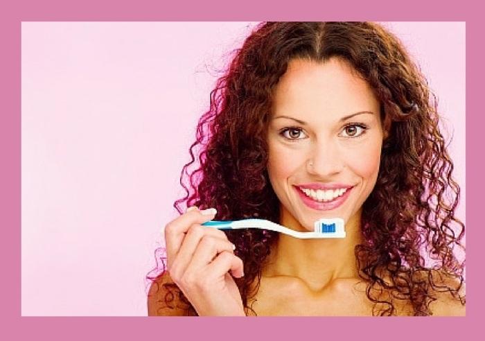 brushing teeth - by marin